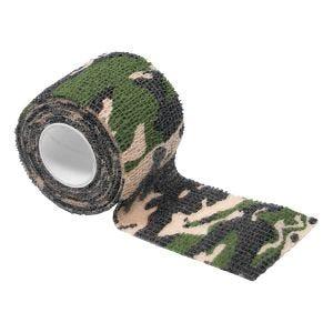 Taśma Maskująca MFH Self Adhesive Camo 5cm x 4.5m Woodland