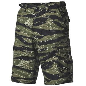 Szorty MFH US BDU Bermuda Tiger Stripe
