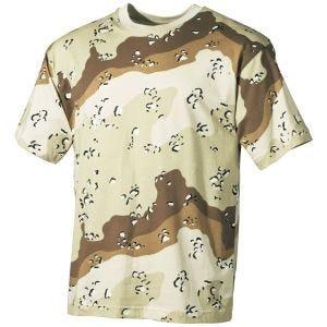 Koszulka T-shirt MFH 6-Desert
