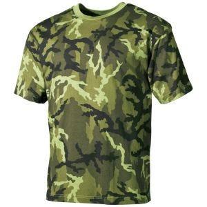 Koszulka T-shirt MFH Czech Woodland