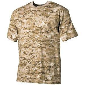 Koszulka T-shirt MFH Digital Desert