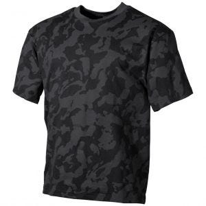 Koszulka T-shirt MFH Night Camo