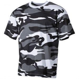 Koszulka T-shirt MFH Skyblue