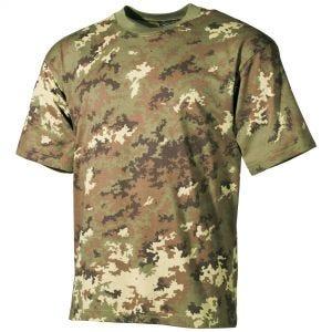 Koszulka T-shirt MFH Vegetato Woodland