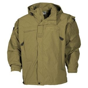 Kurtka MFH US Soft Shell Level 5 Coyote Tan