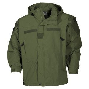 Kurtka MFH US Soft Shell Level 5 OD Green