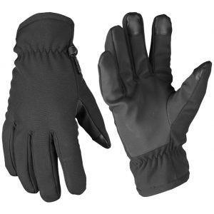 Rękawice Zimowe Mil-Tec Softshell Thinsulate Czarne