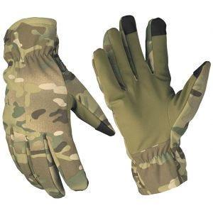 Rękawice Zimowe Mil-Tec Softshell Thinsulate Multitarn