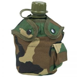 Manierka Mil-Tec US Army z Kubkiem Woodland