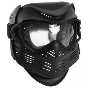 Maska Ochronna do Paintballa Mil-Tec Czarna
