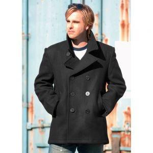 Płaszcz Mil-Tec US Navy Pea Coat Czarny