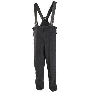 Spodnie Polarowe na Szelkach Polartec US GI Thermo Czarne