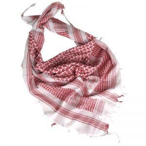 Chusta Arafatka Mil-Tec Shemagh Biało-Czerwona