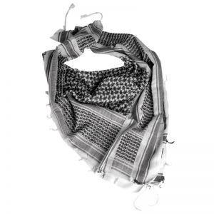 Chusta Arafatka Mil-Tec Shemagh Biało-Czarna