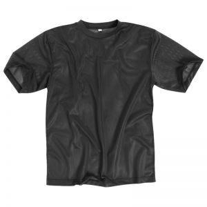 Koszulka T-shirt Mil-Tec Mesh Czarna