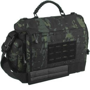 Torba Mil-Tec Tactical Paracord Bag Duża Multitarn Black