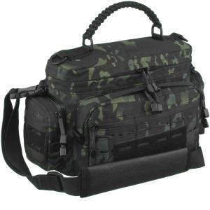 Torba Mil-Tec Tactical Paracord Bag Mała Multitarn Black