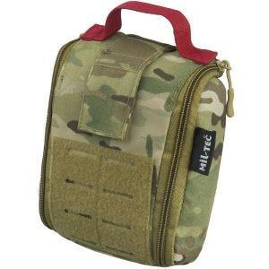 Kieszeń Uniwersalna Mil-Tec Individual First Aid Kit Zestaw 25 szt. Laser Cut Multitarn