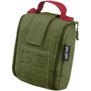 Kieszeń Uniwersalna Mil-Tec Individual First Aid Kit Zestaw 25 szt. Laser Cut Oliwkowa