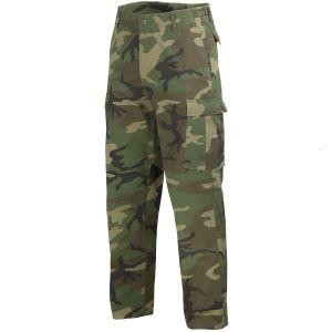 Spodnie Mil-Tec BDU Ranger Woodland