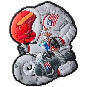 Naszywka na Rzep Chameleon Apollo Armstrong Szara