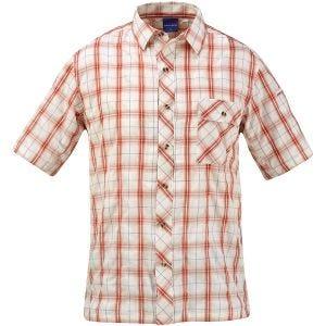 Koszula Propper Covert Button-Up Krótki Rękaw Brick