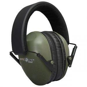 Ochronniki Słuchu SpyPoint EM-24 Zielone
