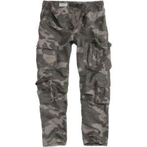 Spodnie Airborne Slimmy Black Camo