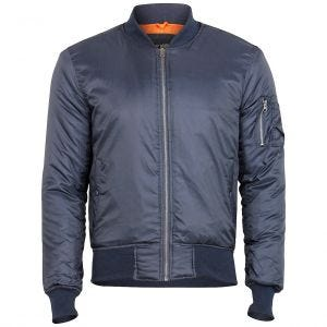 Kurtka Flek Surplus Basic Bomber Navy