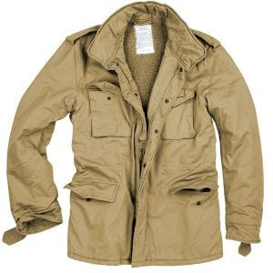 Kurtka Surplus Paratrooper Winter Beige Washed
