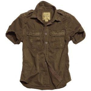 Koszula Surplus Raw Vintage 1/2 Brązowa