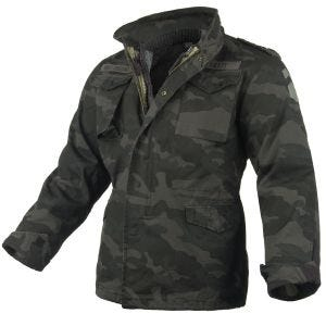 Kurtka Surplus M65 Regiment 2w1 Black Camo