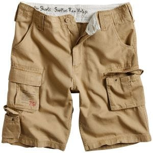 Szorty Surplus Trooper Beige Washed