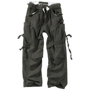 Spodnie Surplus Vintage Fatigues Czarne