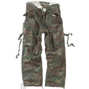 Spodnie Surplus Vintage Fatigues Woodland