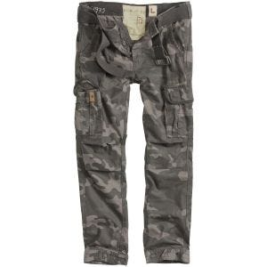 Spodnie Surplus Premium Slimmy Black Camo