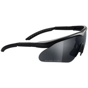 Okulary Taktyczne Swiss Eye Raptor - Zestaw 3 Wymiennych Wizjerów - Czarne