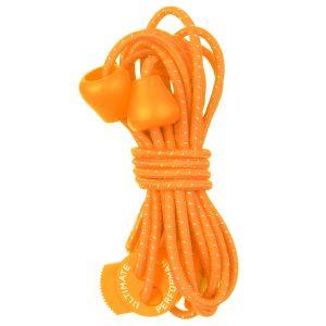 Sznurówki do Butów Ultimate Performance Elastyczne Odblaskowe Pomarańczowe
