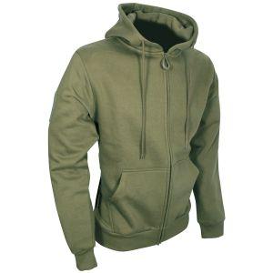 Bluza z Kapturem Viper Tactical Hoodie Zipped Zielona