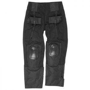 Spodnie Mil-Tec Warrior z Nakolannikami Czarne