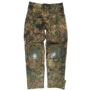 Spodnie Mil-Tec Warrior z Nakolannikami Flecktarn