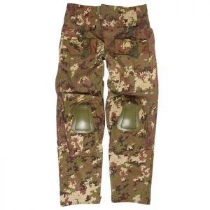 Spodnie Mil-Tec Warrior z Nakolannikami Vegetato Woodland