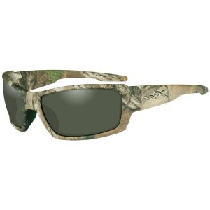 Okulary Taktyczne Wiley X WX Rebel - Polarized Green - Realtree Xtra Camo