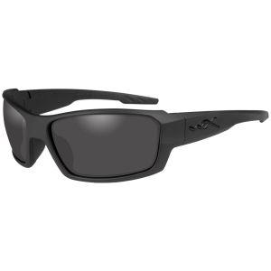 Okulary Taktyczne Wiley X WX Rebel - Smoke Grey - Czarne