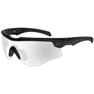 Okulary Taktyczne Wiley X WX Rogue COMM - Clear - Czarne