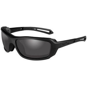 Okulary Taktyczne Wiley X WX Wave - Smoke Grey - Czarne