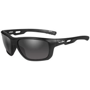 Okulary Taktyczne Wiley X WX Aspect - Smoke Grey - Czarne
