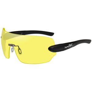 Okulary Taktyczne Wiley X WX Detection - Yellow + Orange + Purple - Czarne
